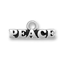 Product Description - Peace Charm for Military Bracelets for Military Moms, Wifes and Brats